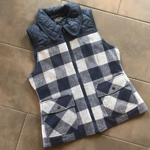 Pendleton Wool and Quilted Vest